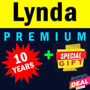 Lynda-Premium-10-Years-Valid-UNLIMITED-Private-Access-Money-Back-Guarantee