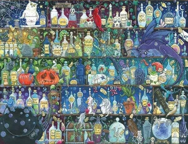 Ravensburger Poisons and Potions - 2000pc Jigsaw Puzzle