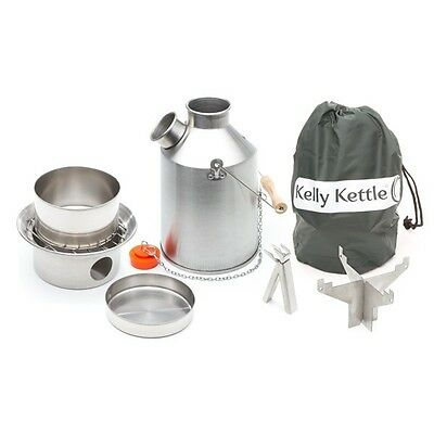 Aluminio Explorar Mediana 1.2L Kelly Kettle,Kits y Accesorios -Volcán Hervidor