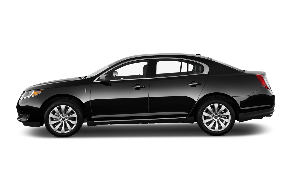 Lincoln MKS side view