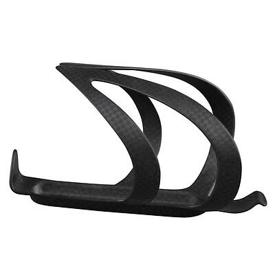 2 Piece Carbon Fiber Water Bottle Cages for Road Bike MTB Bicycle Black