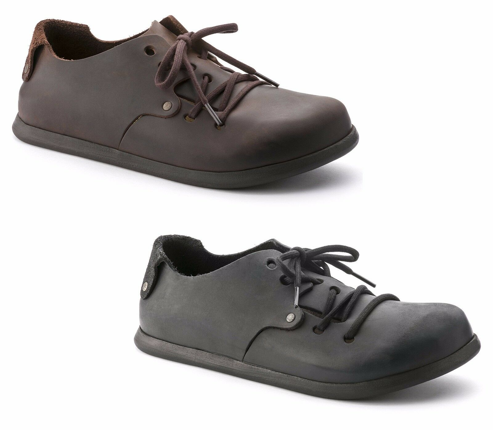 Zapatos  AL BIRKENSTOCK MONTANA HABANA Negro DAL 35 AL  46 hombre mujer UNISEX PELLE 613c11
