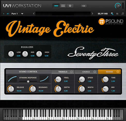 PSound Vintage Electric Mac PC Software Instrument
