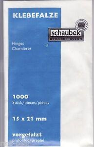Schaubek-Klebefalze-1000-Stueck-preisguenstig