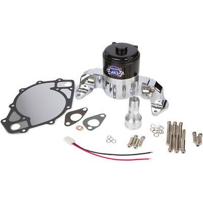 Small Block Ford 289 302 Electric High Volume Water Pump Billet Aluminum Black