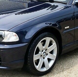 Bmw E46 Saloon 1998 2001 N S Saloon Estate Painted 317 Orient Blue New Ebay