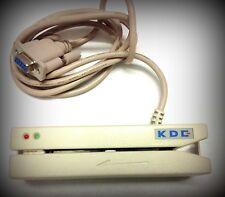 Magnetkartenleser KDE KT 2280 Magnetic IC Card Reader m seriellem Anschlusskabel
