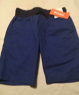 NWT Gymboree Boys shorts Pull on Navy Blue 2T MSRP 14.95