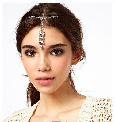 Fashion Bridal Rhinestone Head Chain Jewelry Headband Head Piece Hair band