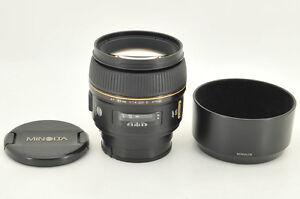 Excellent-Minolta-AF-85mm-f-1-4-G-D-Limited-for-Sony-Alpha-from-Japan-0928