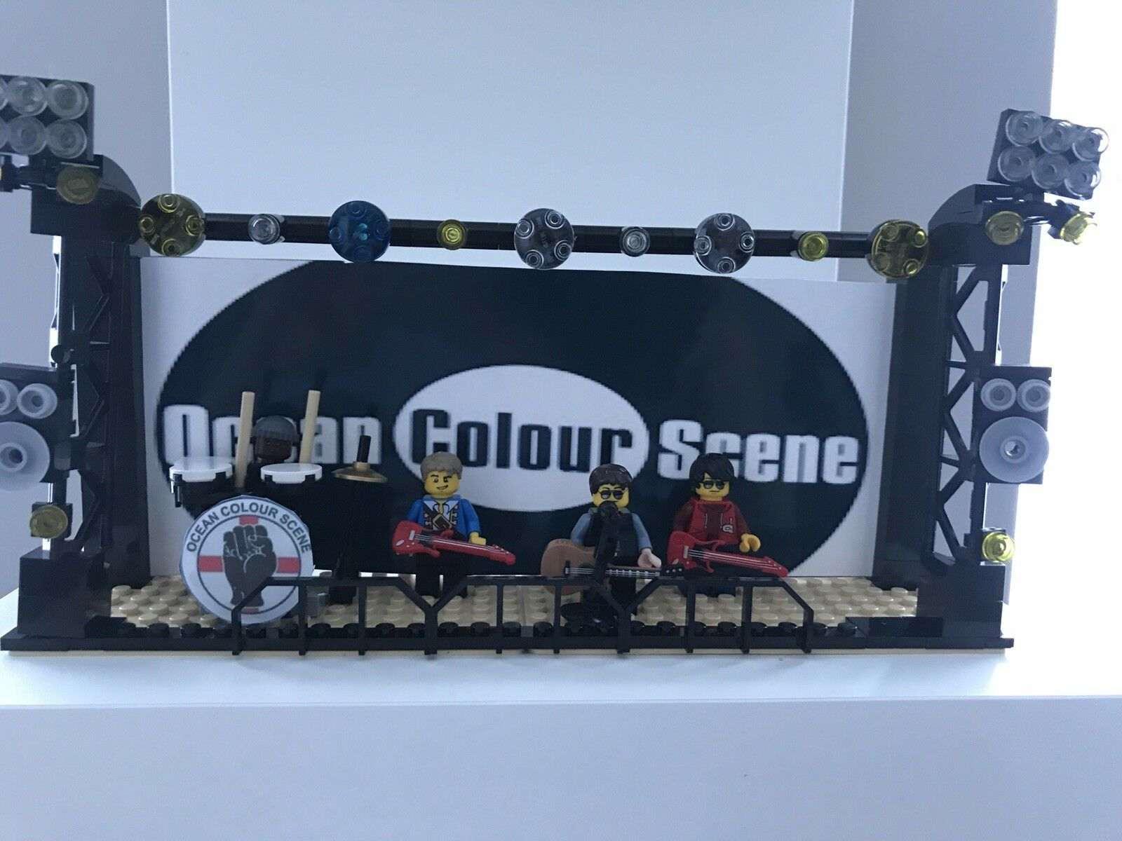 Ocean colour scene ocs Lego  minifigures and stage, Perfect birthday gift mods