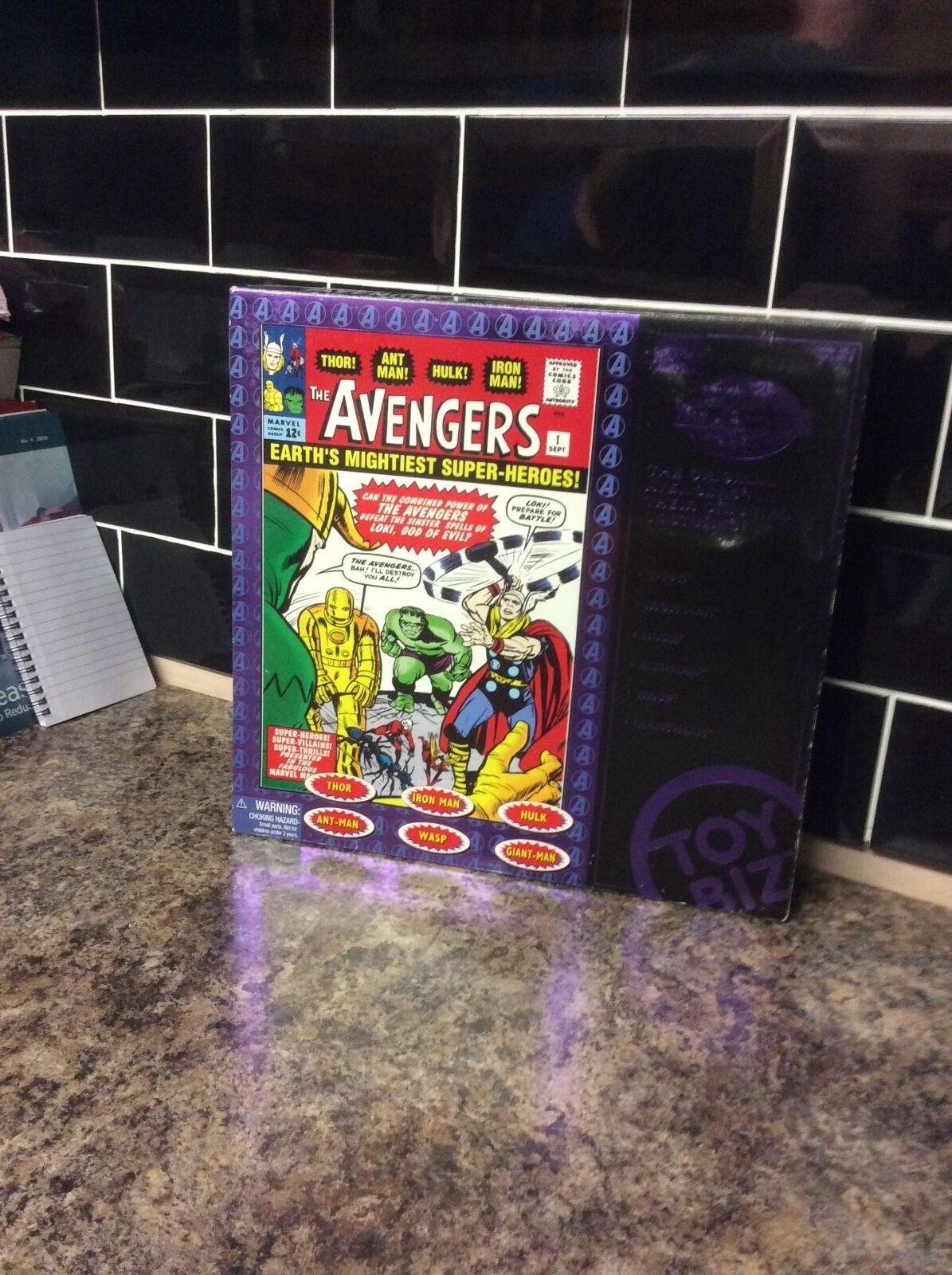 Toy Biz ORIGINALE Avengers Figura Box Set
