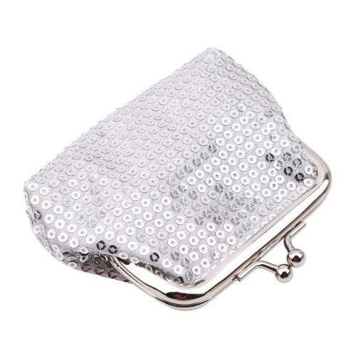 Fashion Women Girls Coins Wallet Sequin Wallets Bags Luxury Purse Package 6L
