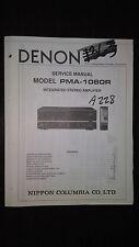 Denon pma-1080r service manual original repair book stereo amp amplifier