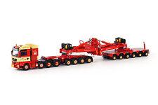 WSI Torben Fafn - MAN TGX XXL 8 x 4 Tractor w/4+6 Axle Mega Windmill Trailer MIB