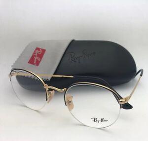 b41bf9fc286 RAY-BAN Rx-able Eyeglasses RB 3947V 2946 48-22 140 Round Semi ...