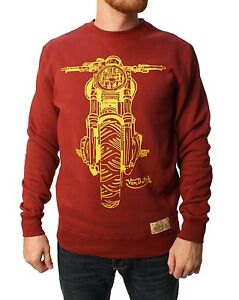 De-VAN-DUTCH-Sweater-Motorbike-Moto-Sweatshirt-Pull-Pull-Crew-Neck-Sweat