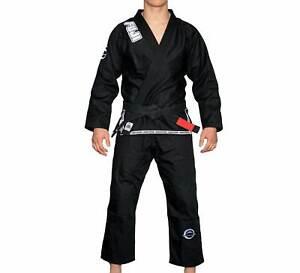 Details about Fuji Submit Everyone Mens Brazilian Jiu-Jitsu BJJ Gi - Black  w White