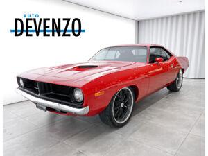 1972 Plymouth CUDA CUDA 340 MOTEUR 700 MILES RESTORATION COMPLETE