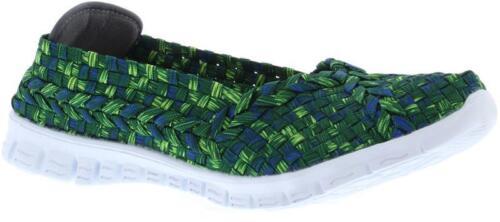 Adesso Lolly Enfiler Élastique Sandales Chaussures confortables Semelle intérieure