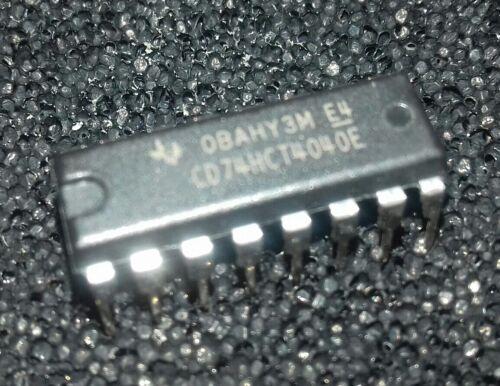 5 pcs  CD74HCT4040E 12-stage binary ripple counter