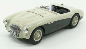 CULT-SCALE MODELS 1/18 AUSTIN | HEALEY 100S SPIDER 1955 | GREEN WHITE