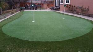 ***Curbside Instant Pick Up!! ***  GOLF PUTTING GREEN SYNTHETIC GRASS TURF!!  Stock BLOWOUT $3.49 sf Windsor Region Ontario Preview