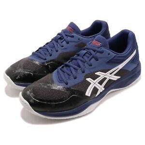 Asics-Netburner-Ballistic-FF-Black-Blue-Men-Volleyball-Badminton-1051A002-001