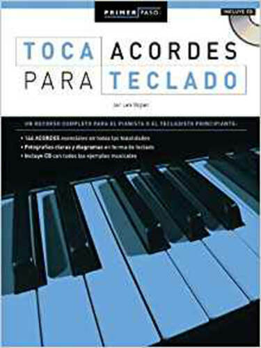 1 of 1 - Primer Paso: Toca Acordes Para Teclado (Primer Paso / First Step), Very Good, Vo
