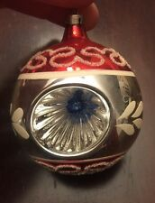 Vintage Triple Indent Christmas Ornaments-Excellent condition