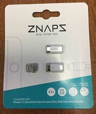 ZNAPS Lightning Magnetic Adapter Set + Extra Adapter for iPhone 5 6 7 Plus