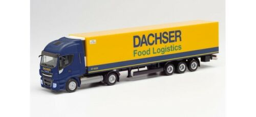 Herpa 312455-1//87 Iveco Stralis NP Kühlkoffer-Sattelzug Dachser Food Logistic