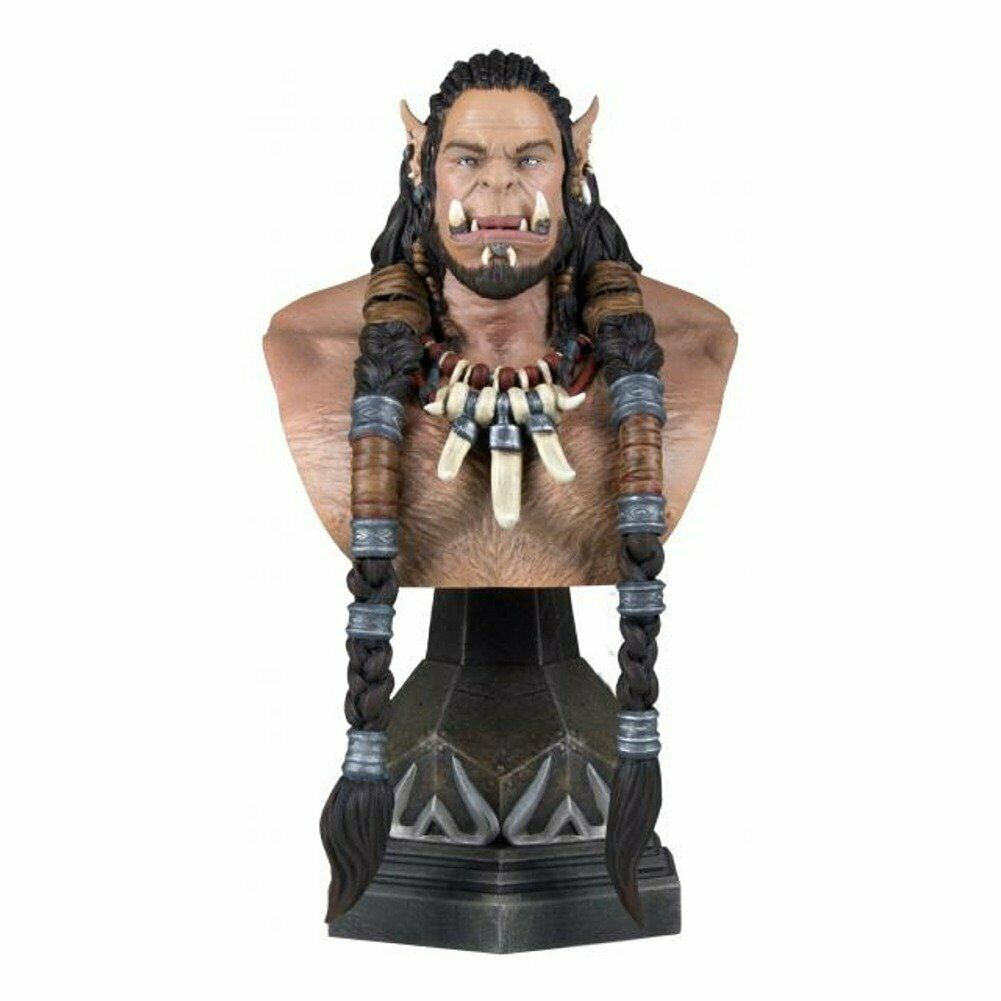 Gentle Giant Durotan SDCC 2016 EX Warcraft Classic Collectible Mini Bust