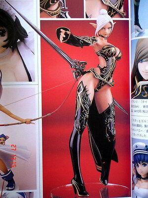 """10""""Sexy Japanese Anime Games DARK ELF Resin Model Kit 1/7"""