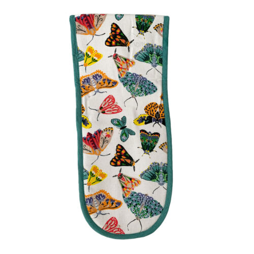 Ulster Weavers Butterfly House Kitchen Cotton Hand Double Oven Gloves Tea Towel