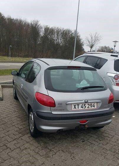 Peugeot 206, 1,4 Jubilee, Benzin