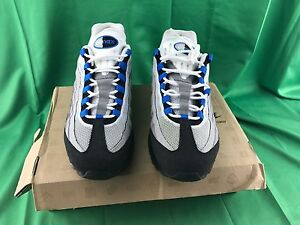 timeless design 0980c 7707d ... usa image is loading nike air max 95 blue spark mens sz 1a5c3 4471a