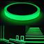 Glow-In-The-Dark-Luminous-Fluorescent-NUIT-auto-adhesif-de-securite-Autocollant-Bande miniature 1