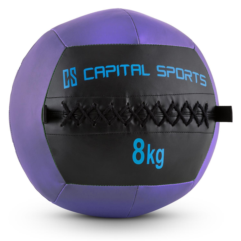 [OCCASION] Nouveauté Wall Ball purples 8 kg entraînement bodybuilding musculation