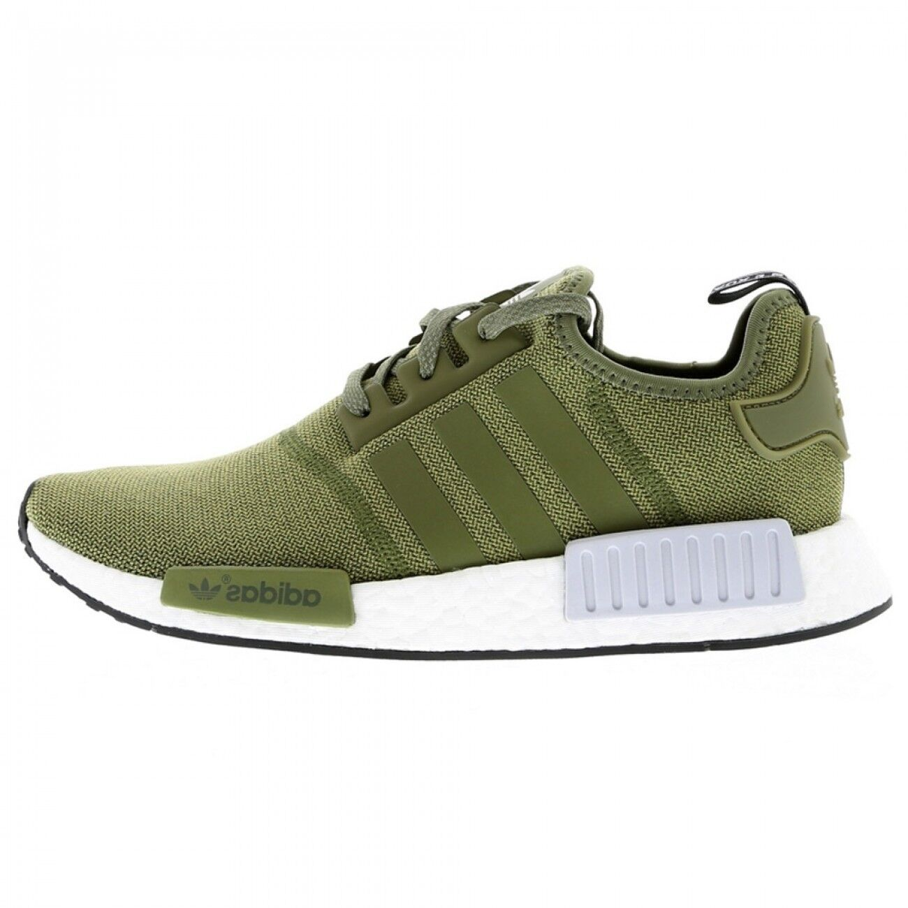 NEW ADIDAS NMD R1 UK7 ~ ~ ~ SIZE 40 2/3 KHAKI OLIVE GREEN