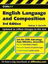 CliffsAP English Language and Composition, 3rd Edition, Swovelin, Barbara V., Go