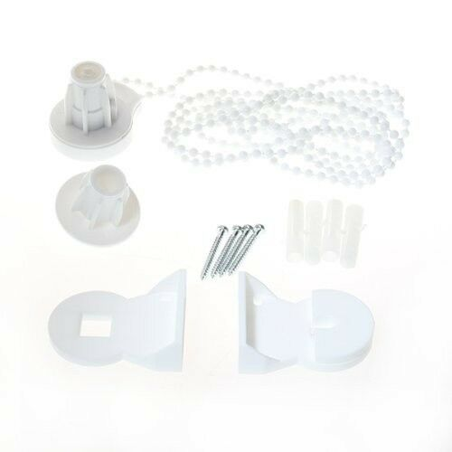 25mm DIY Roller Blind Shade Cluth Bracket Bead Chain Kit High Quality E7C