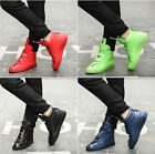 Mens High top Sneakers Ankle Boots Hip Hop Leisure Casual Fashion Men Shoes CF35