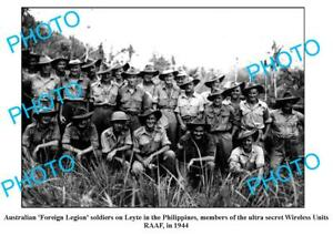 OLD-8x6-PHOTO-AUSTRALIAN-RAAF-WIRELESS-UNITS-PHILIPPINES-c1944