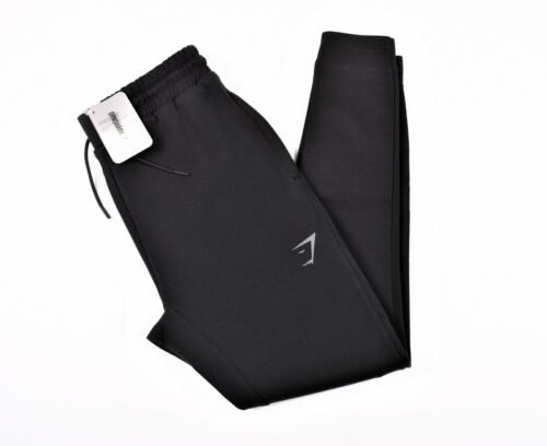 Details about  /Gymshark Mens NEW Orbit Joggers Black and Chalk Grey