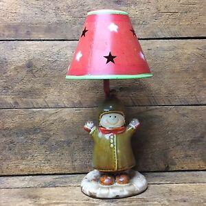 Yankee Candle Tealight Lamp Holder - Snowman Boy | eBay