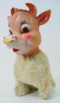 Vintage Beauregard Die Kuh Plüsch Puppe Meine Spielzeug Elsie's Sohn Quell Sommer Durst 594ms