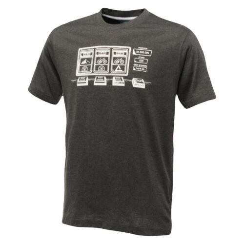 Dare2b T Shirt Summer Running Gym Jackpot Tee Quick Dry Bike Graphic Grey Top