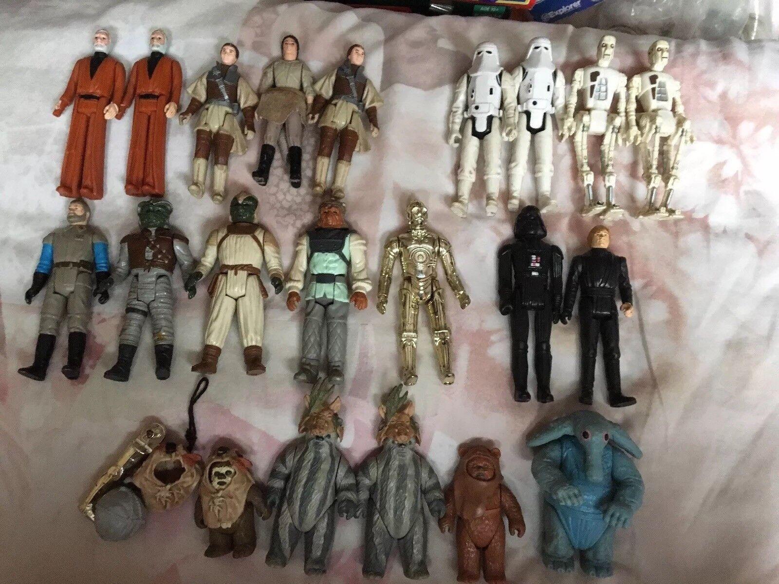 mas preferencial Raras Figuras Figuras Figuras De Colección De Estrella Wars  la calidad primero los consumidores primero