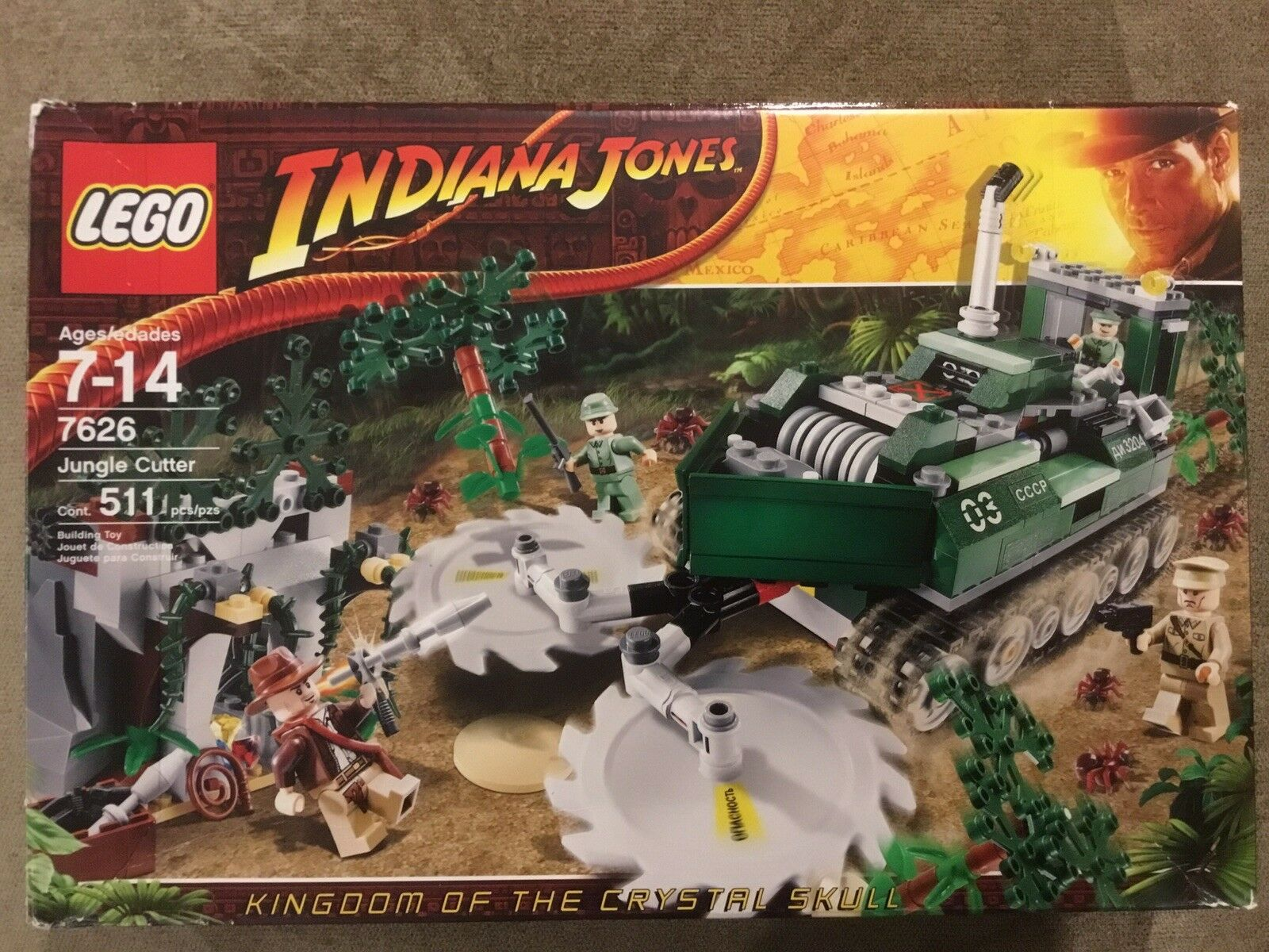 LEGO Indiana Jones Jones Jones Jungle Cutter (7626) e6a8b2